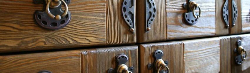 Мебельные ручки для кухни под «старину»
