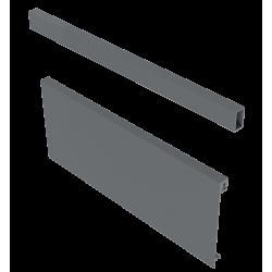 Передня панель для внутрішнього ящика C i D AXIS PRO 1200мм Графіт + поперечний релінг (A)