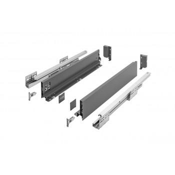 Купить Выдвижная система AXIS PRO l-350 мм низкий H84 Графит AXIS PRO графит GTV выдвижные ящики от GTV
