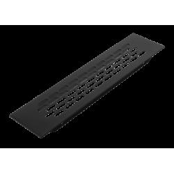 Решітка вентиляційна GTV Чорна 245x60