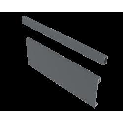 Передня панель для внутрішнього ящика B AXIS PRO 1200мм Графіт + поперечний релінг (A)
