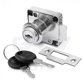 Купить Замок GTV квадратный хром врезной с фиксатором KL-338 ЗАМОК GTV от GTV