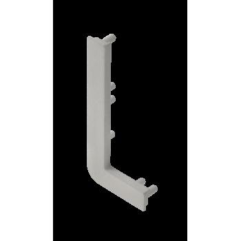 Купить Заглушка левая для профиля GTV VELLO L Сталь ( 10 шт ) РУЧКА ПРОФИЛЬ от GTV