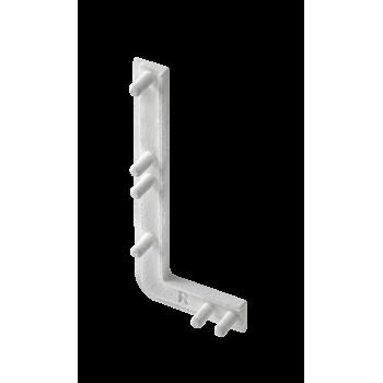 Купить Заглушка права для профиля GTV VELLO L алюминий (10 шт ) РУЧКА ПРОФИЛЬ от GTV