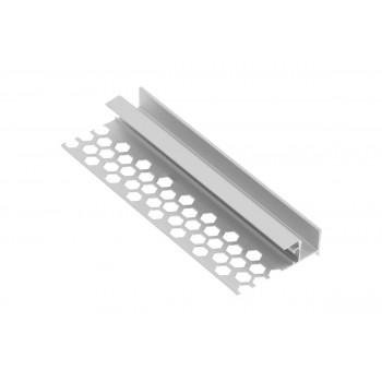 Купить LED-профиль потолочный для гипсокартонных плит 3м ПРОФИЛЬ ДЛЯ СВЕТОДИОДНОЙ ЛЕНТЫ от GTV