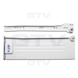 Металбокс GTV часткового висуву 54/400 Білий PRESTIGE