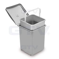 Ведро для мусора GTV QUADRA 13л