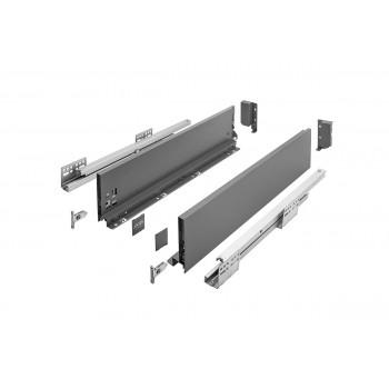 Купить Выдвижная система AXIS PRO l-550 мм средний H116 Графит AXIS PRO графит GTV выдвижные ящики от GTV