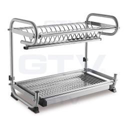 Сушка GTV дворівнева для посуди 240х482х340 настільна