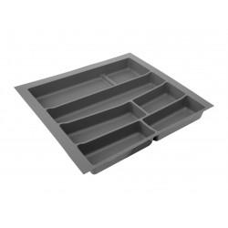 Лоток для столовых приборов 32/76 Volpato 540х490 графит