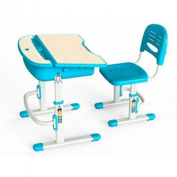 Купить Детские столы парты Mealux Evo-kids Evo-02 B без лампы(Уценка) ДЕТСКАЯ СТОЛ-ПАРТА от Школьная мебель Mealux