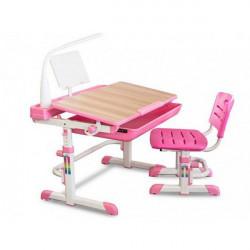 Столы-парты детские Mealux Evo-kids Evo-04 P XL клен (с лампой)
