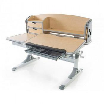 Купить Детская парта Mealux Evo-kids Aivengo - L  Maple (Evo-720 WG) ДЕТСКАЯ СТОЛ-ПАРТА от Школьная мебель Mealux
