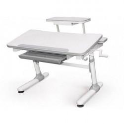 Купить детский стол парту Mealux Evo-kids Duke (с полкой) Evo-501 G+полка Evo-513