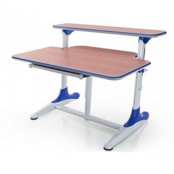 Купить Детская стол парта Mealux Platon BD-205 WB Beech+BD-PK5 ДЕТСКАЯ СТОЛ-ПАРТА от Школьная мебель Mealux