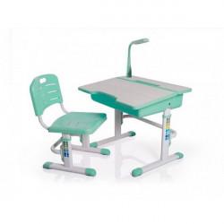 Детские столы парты Mealux Evo-kids BD-02 G (с лампой)(Уценка)