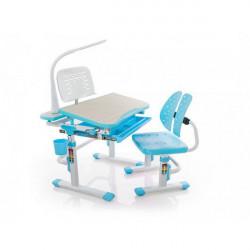 Детская стол парта Mealux Evo-kids Evo-05 BL (с лампой)