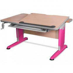Детские письменные столы и парты Mealux Detroit BD-320 NT/R
