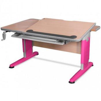 Купить Детские письменные столы и парты Mealux Detroit BD-320 NT/R ДЕТСКАЯ СТОЛ-ПАРТА от Школьная мебель Mealux