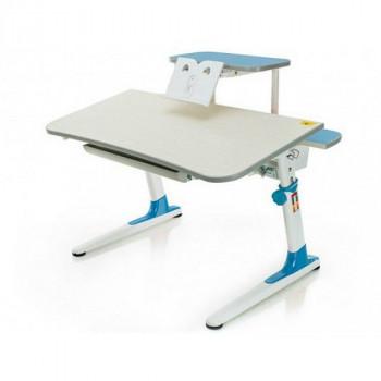Купить Детские столы парты Mealux Edison BD-104 BL+полка BD-S50 ДЕТСКАЯ СТОЛ-ПАРТА от Школьная мебель Mealux