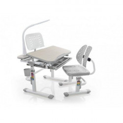 Детская стол парта Mealux Evo-kids Evo-05 G (с лампой)