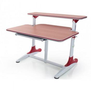 Купить Детская стол парта Mealux Platon BD-205 WR Beech+BD-PK5 ДЕТСКАЯ СТОЛ-ПАРТА от Школьная мебель Mealux