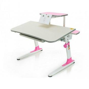 Купить Детские столы парты Mealux Edison BD-104 PN+полка BD-S50 ДЕТСКАЯ СТОЛ-ПАРТА от Школьная мебель Mealux