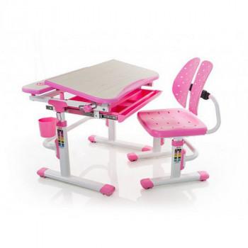Купить Детские письменные столы и парты Mealux Evo-kids Evo-05 PN ДЕТСКАЯ СТОЛ-ПАРТА от Школьная мебель Mealux