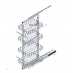 Карго для кухни Starax S-1107 галерея выдвижная 850-1100 мм, секция 300 мм