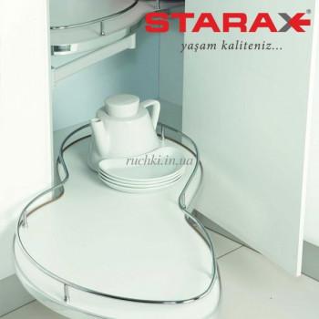 Купить Карго для кухни S-3013 выдвижной угловой механизм Secret левый 450 мм КАРГО КУХНЯ от Мебельная фурнитура STARAX (Турция)