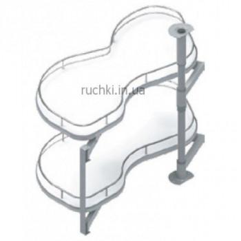 Купить Карго для кухни S-3014 выдвижной угловой механизм Secret правый 450 мм КАРГО КУХНЯ от Мебельная фурнитура STARAX (Турция)