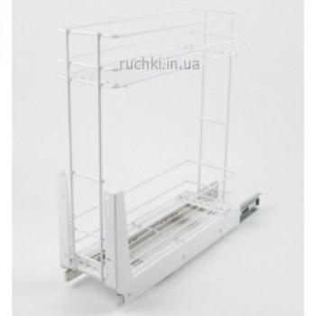 Купить Карго для кухни 400мм БЕЛОЕ 2 полки Rejs КАРГО КУХНЯ от Мебельная фурнитура REJS (Польша)
