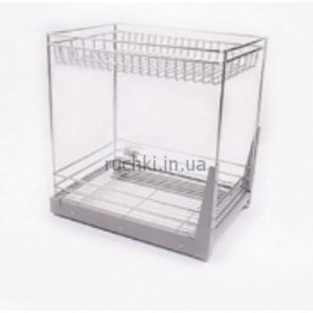 Купить Карго для кухни 400мм Хром 2п полное выдвижение ДС КАРГО КУХНЯ от Мебельная фурнитура ДС