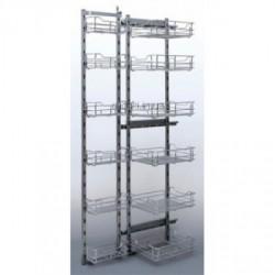 Карго для кухни 450 MAXI FRONT распашное(L1850-1950мм) ДС