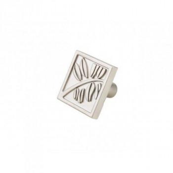 Купить Мебельная ручка кнопка K-107 G5 матовый никель КНОПКИ от Мебельная фурнитура ДС