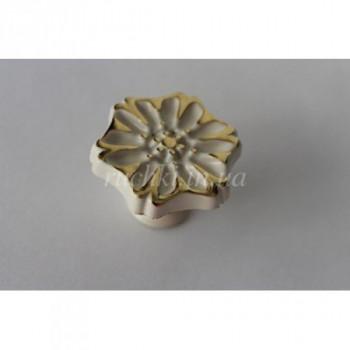 Купить Мебельная ручка кнопка Alliste NC 110 W белый фарфор КНОПКИ от Мебельные ручки Аlliste
