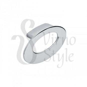 Купить Мебельная ручка кнопка Virno Style 803/32 хром КНОПКИ от Мебельная фурнитура Virno Style