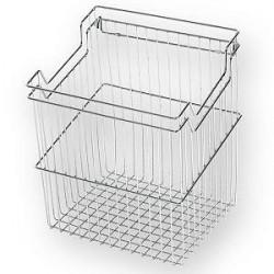 Корзина для белья с навесками ш530*г290*в500 (600) S-8117, хром, Starax