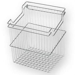 Корзина для белья с навесками ш280*г290*в500 (350) S-8112, хром, Starax