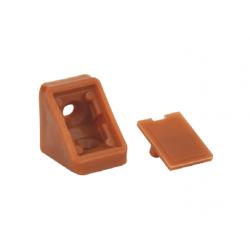 Уголок мебельный одинарный пластиковый GIFF кальвадос