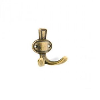 Купить Крючок мебельный WR 07 G4 состаренная бронза КРЮЧКИ МЕБЕЛЬНЫЕ от Мебельная фурнитура ДС