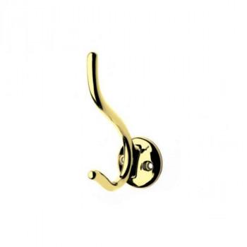 Купить Крючки для одежды DW 49 G3 WP 4903 золото КРЮЧКИ ДЛЯ ОДЕЖДЫ от Мебельная фурнитура ДС