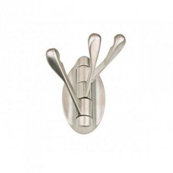 Купить Крючки в прихожую матовый никель DW 10 G5 WP 1006 КРЮЧКИ В ПРИХОЖУЮ от Мебельная фурнитура ДС
