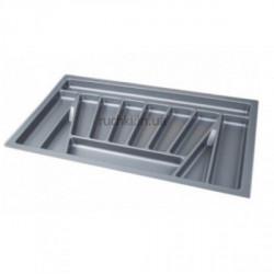 Лоток для столовых приборов 900мм серый ДС