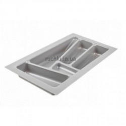 Лоток для столовых приборов 300мм серый ДС