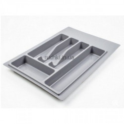 Лоток для столовых приборов 340*490мм серый