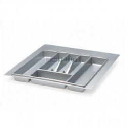 Лоток для столовых приборов 440*490мм серый Volpato