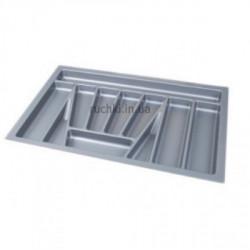 Лоток для столовых приборов 800мм серый ДС