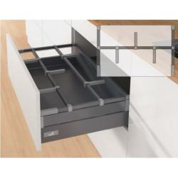 Органайзер для вилок и ложек OrgaStore 410 1уровень до 600мм Антрацит