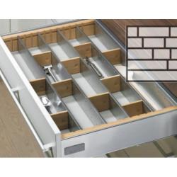 Органайзер для ложек и вилокOrgaTray 900 600*L470Серебро